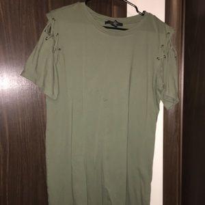 Forever 21 tee shirt dress